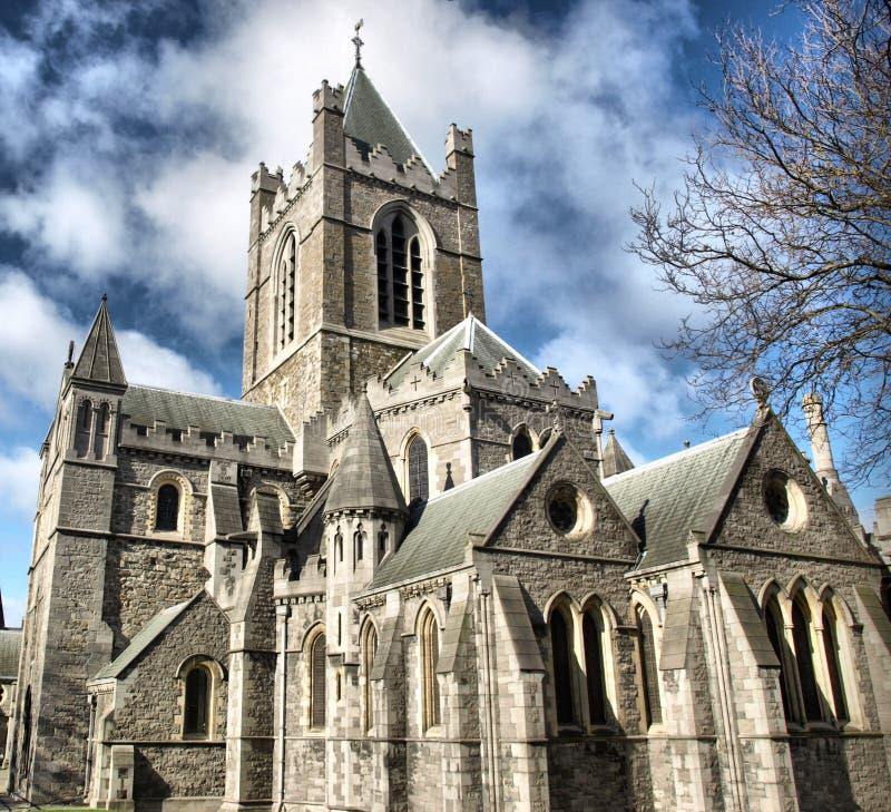 Christ Church Dublin royalty free stock images