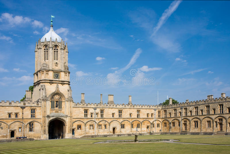 Christ Church's Tom Tower, Oxford University stock image