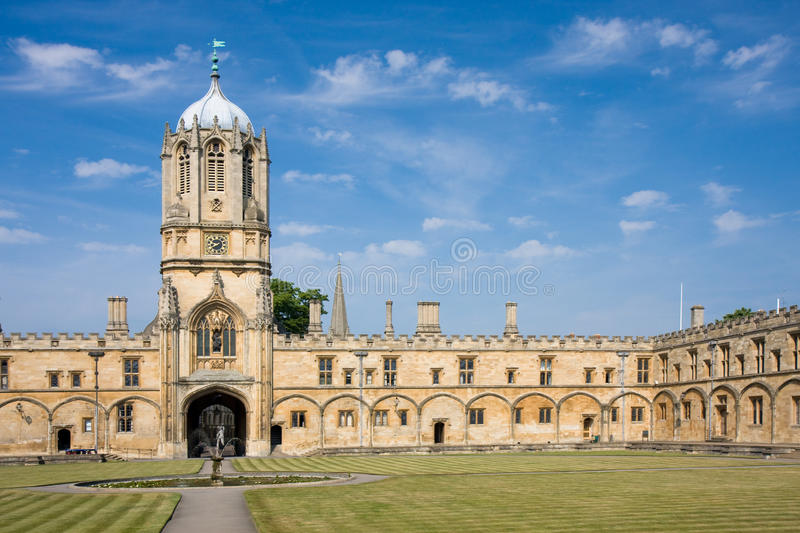 Download Christ Church's Tom Tower, Oxford University Stock Image - Image: 14610361