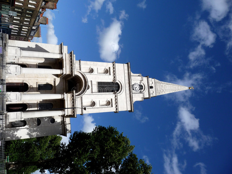 Download Christ Church Spitalfields 4 Stock Photo - Image: 6378918