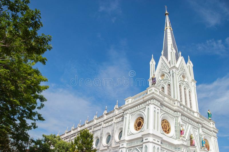 Christ Church Amphawa, Thailand Religion. Christ Church The Temple of the Holy Mother was born Amphawa Thailand stock image