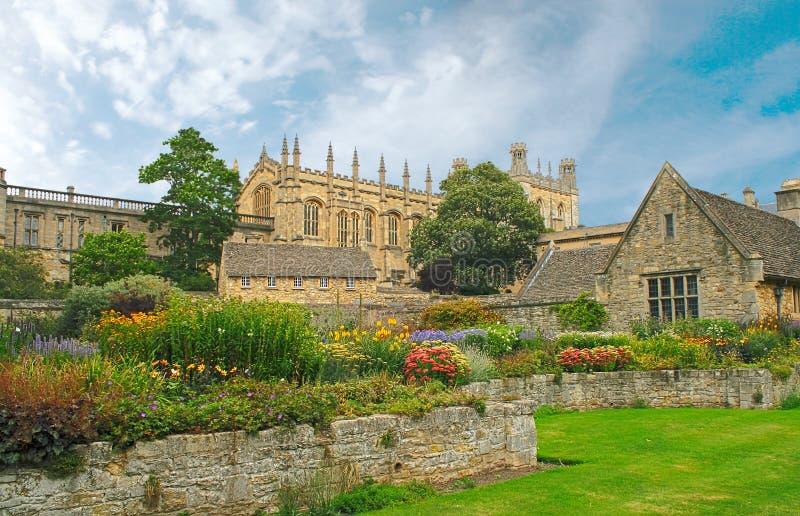 Christ Church. War Memorial Garden. Oxford, UK royalty free stock photos