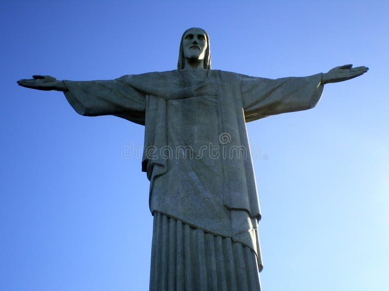 Christ a estátua do Redeemer fotografia de stock royalty free