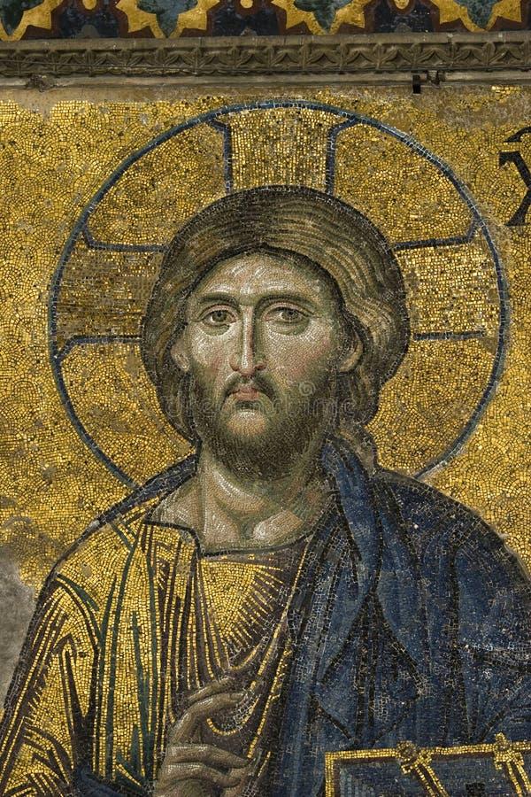 christ hagiajesus sophia arkivbilder