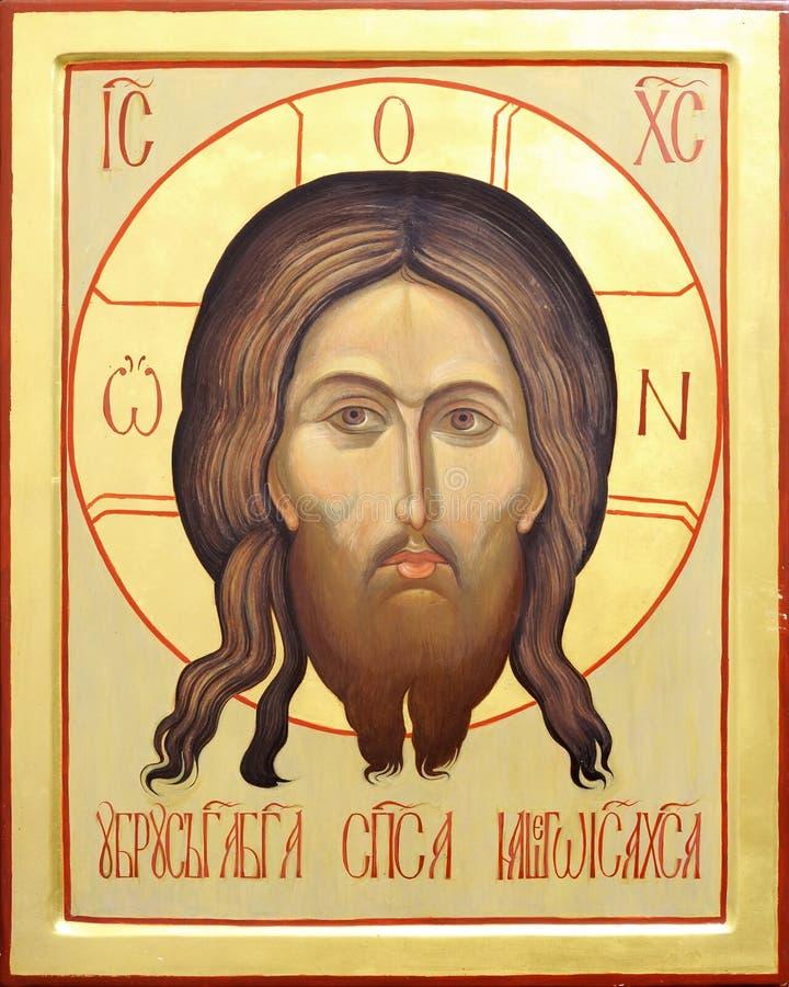 christ ikony Jesus władyka zdjęcie royalty free