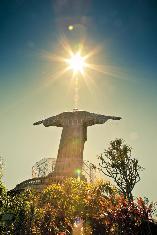 Christ il Redeemer Rio de Janeiro Brasile immagine stock
