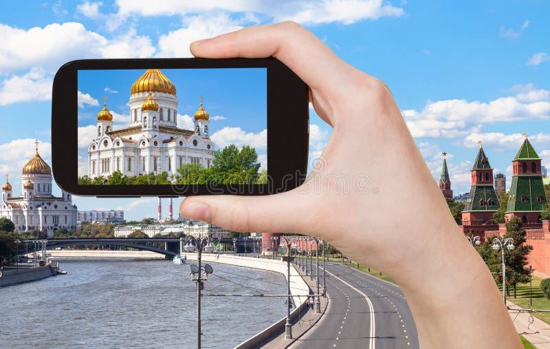 christ katedralny wybawiciel Moscow zdjęcia stock