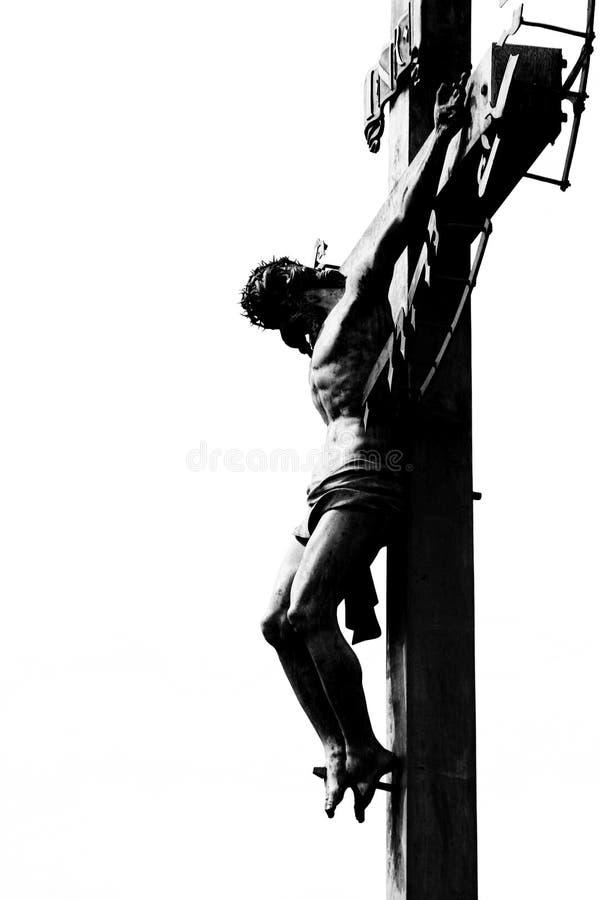 christ korsfäste jesus royaltyfri foto