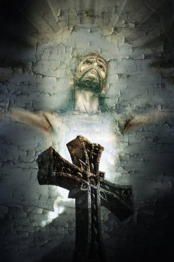 Christ-Kreuz lizenzfreie stockfotografie