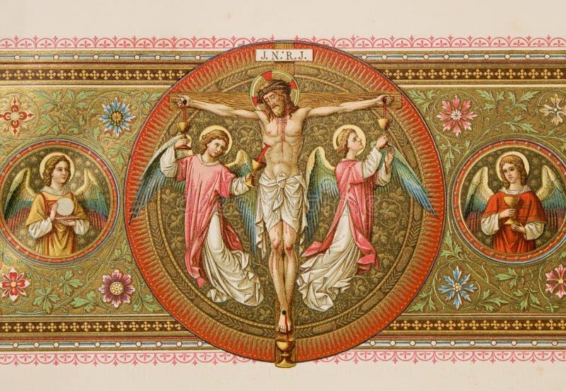christ krzyż obrazy stock