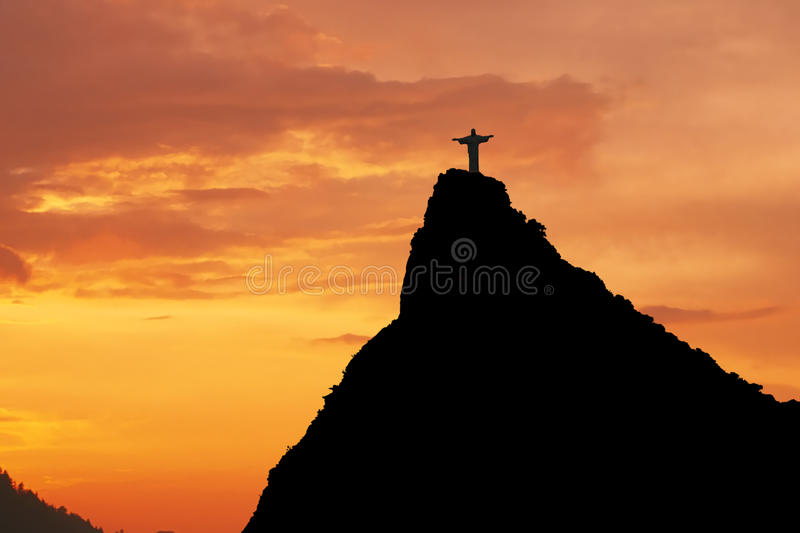 Christ o Redeemer fotografia de stock royalty free