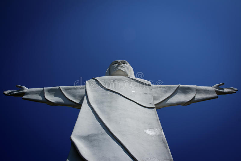 Download Christ of the Ozarks stock photo. Image of beautiful - 26624416