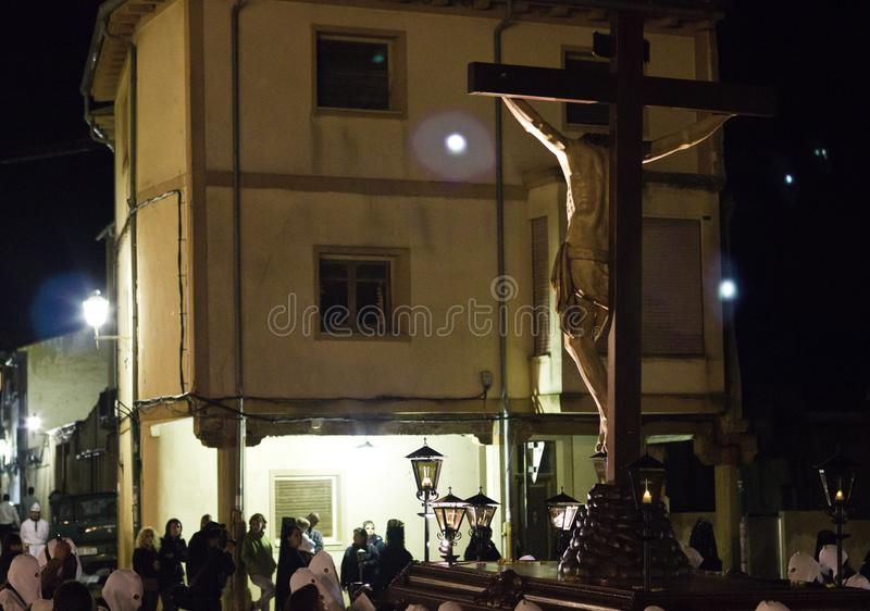 Download Christ Procession At Night Editorial Photography - Image: 19268187