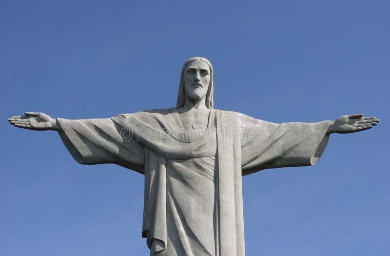 christ redeemer royaltyfria bilder