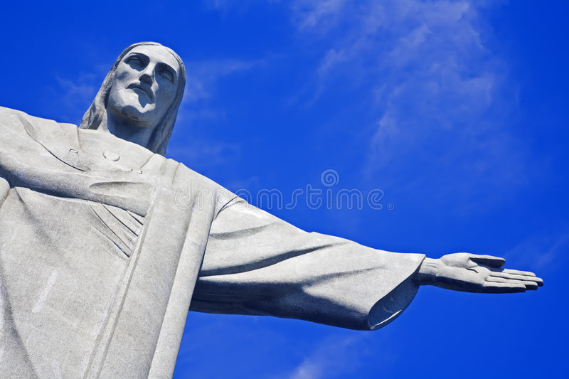 Download Christ the Redeemer stock image. Image of statue, icon - 4377199