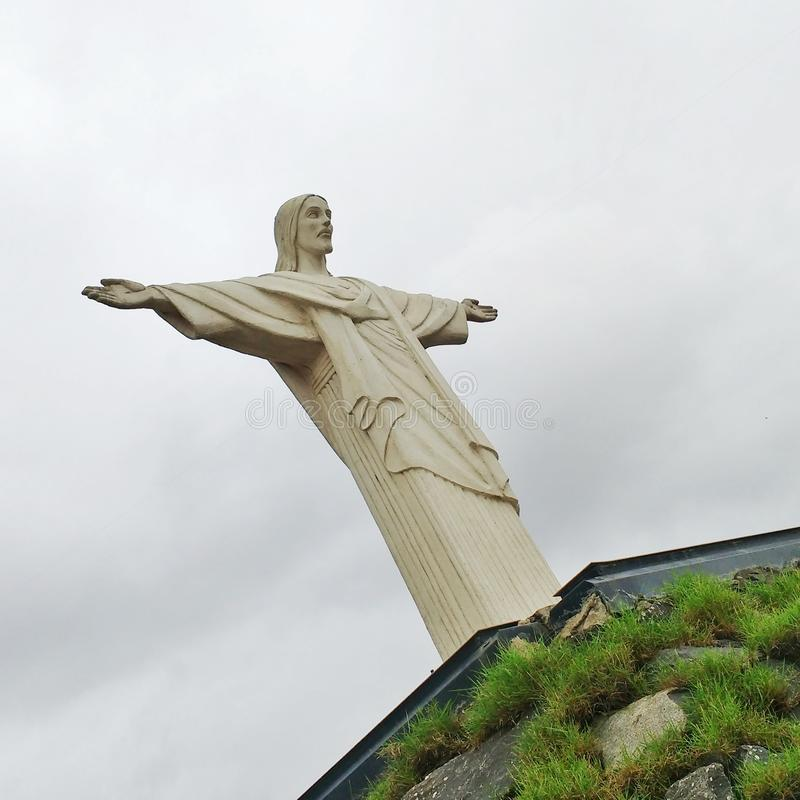 Download Christ Redeemer. stock image. Image of south, christian - 83701165