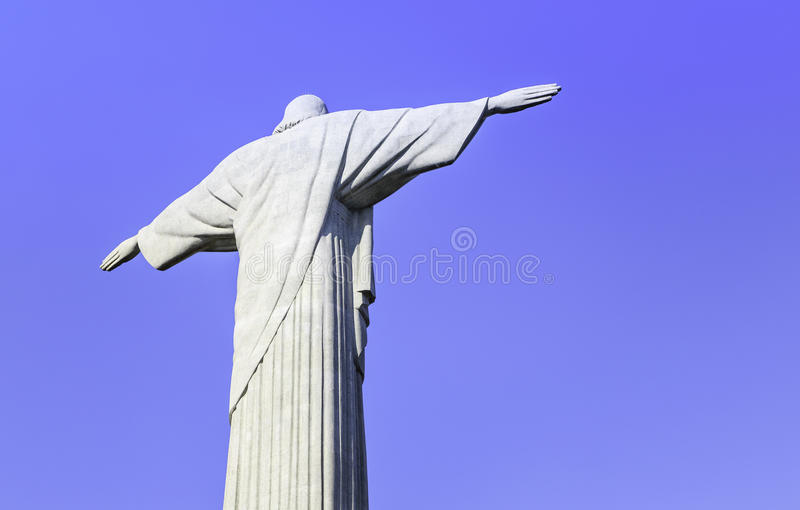 Download Christ The Redeemer Looking At Rio De Janeiro Stock Photo - Image: 38414508