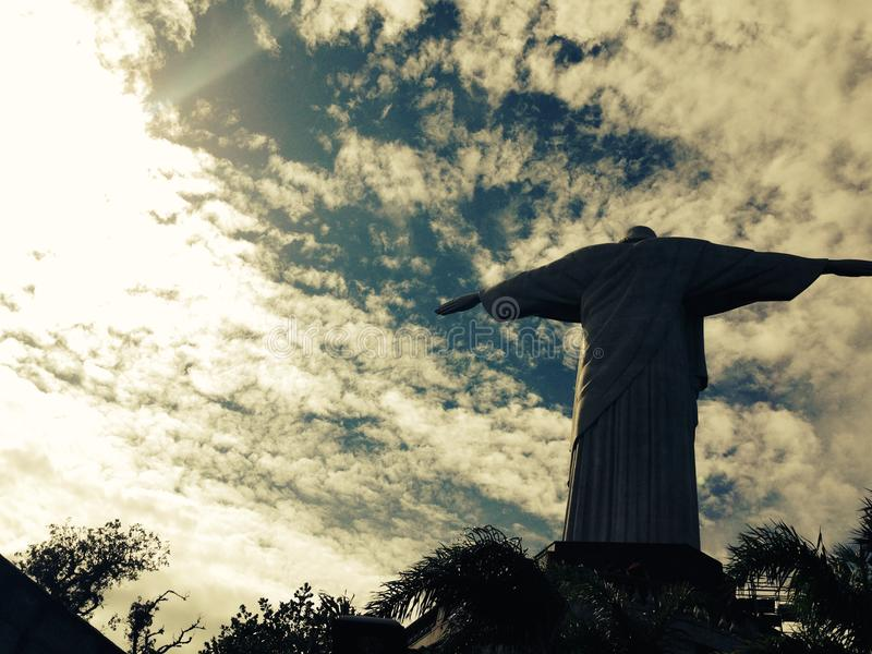 Christ the Redeemer royalty free stock photography