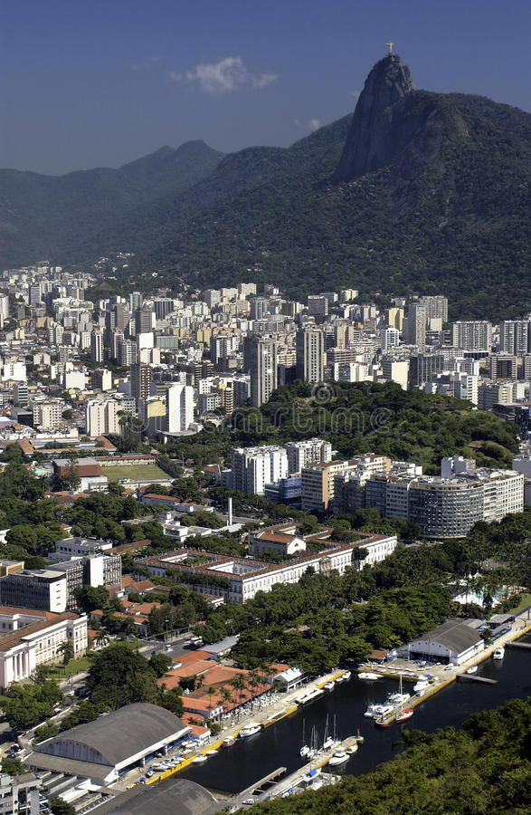 Christ the Redeemer - Rio de Janeiro - Brazil royalty free stock images