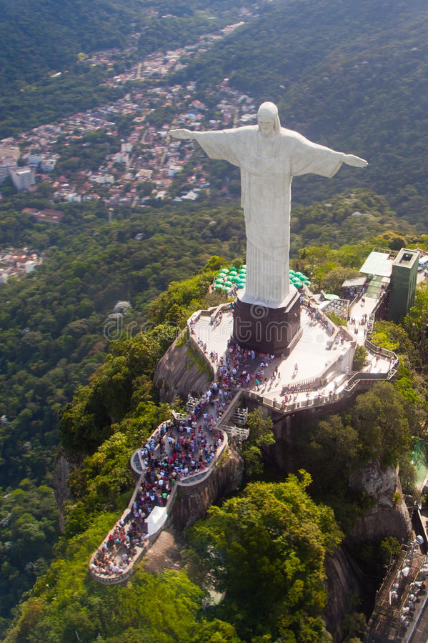 Download Christ the Redeemer statue stock image. Image of deco - 18923667