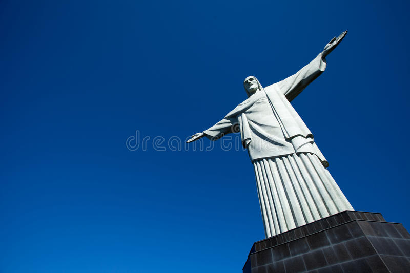 Christ The Redeemer Statue In Rio De Janeiro In Brazil Royalty Free Stock Images