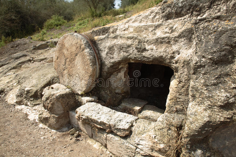 Christ's tomb royalty free stock photography
