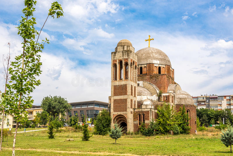 The Christ the Saviour Cathedral stock photography