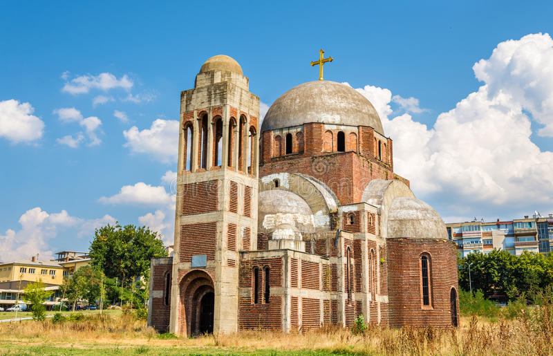 The Christ the Saviour Serbian Orthodox Cathedral in Pristina, K royalty free stock images