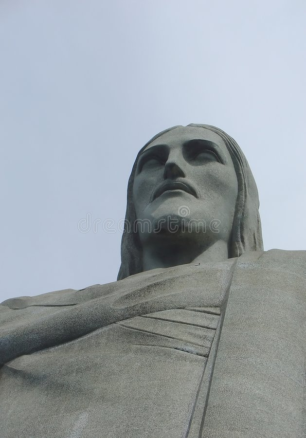 Download Christ statue in Corcovado stock image. Image of peaceful - 1092399