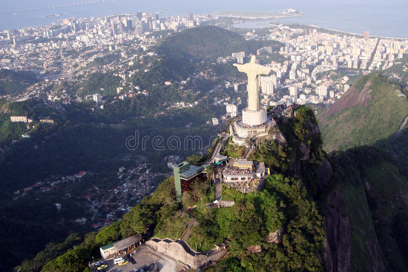 Download Christ Statue In Rio De Janeiro, Stock Image - Image: 19855597