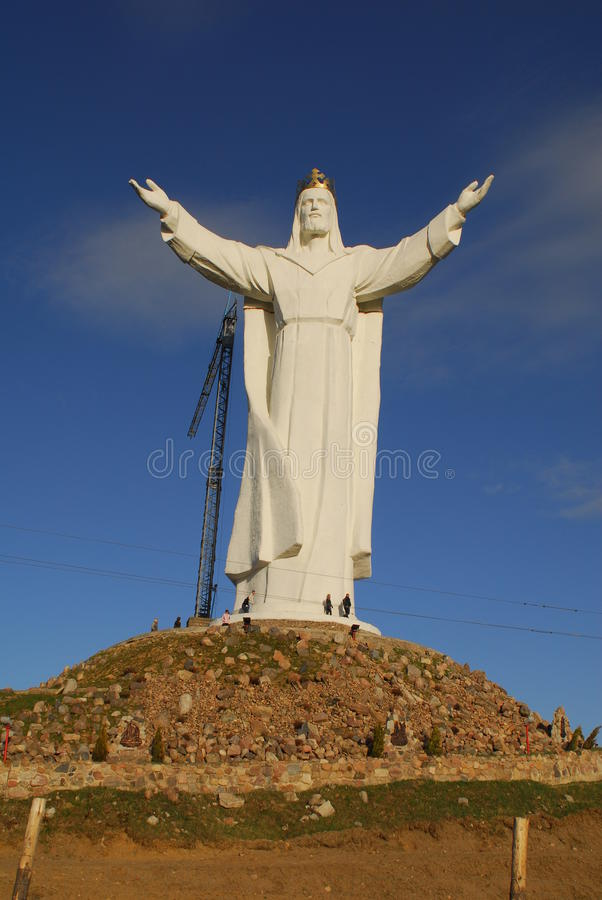 Free Christ The King Monument Royalty Free Stock Photo - 49482095
