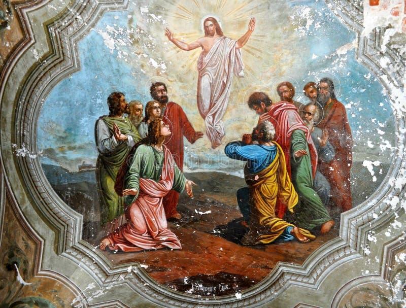 christ uppståndelse royaltyfri foto