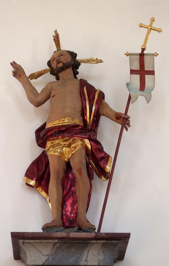 christ wzrastający fotografia royalty free