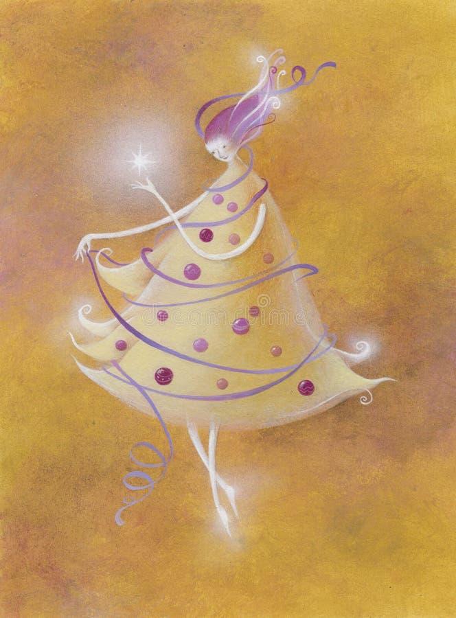 christamas postać royalty ilustracja