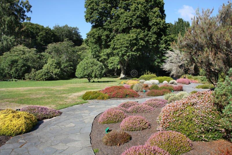 Christchurch Botanische Tuinen royalty-vrije stock afbeeldingen