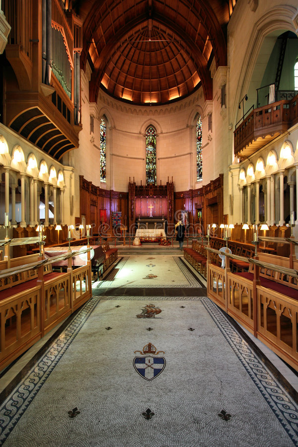 ChristChurch cathedral royalty free stock photo
