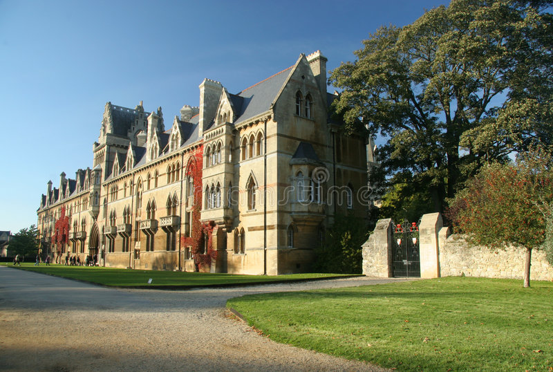 christchurch college Oxford fotografia royalty free