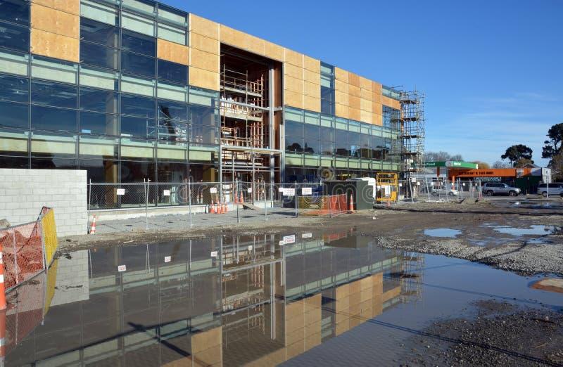 Christchurch Earthquake Rebuild - Victoria Street Office Blocks stock photos