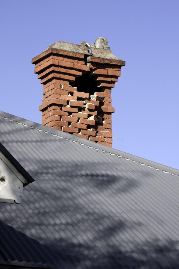Christchurch-Erdbeben 4. September 2010 stockbild