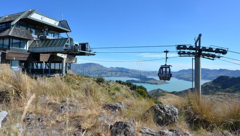 Christchurch gondola - Nowa Zelandia zdjęcia stock