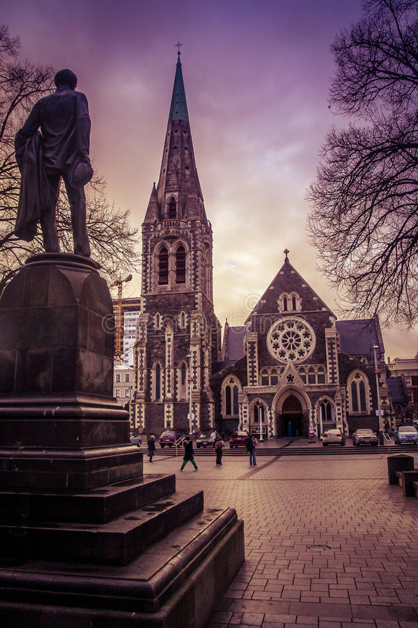 Christchurch katedra obraz stock
