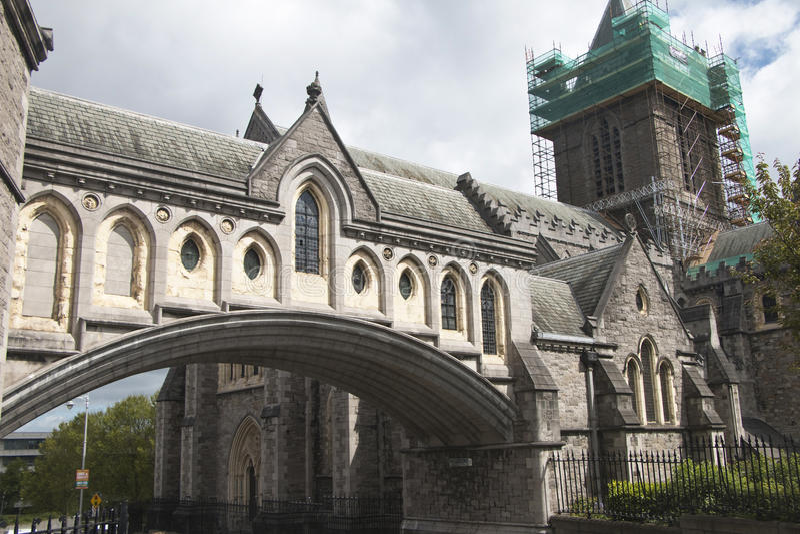 Christchurch katedra, Dublin miasto, okręg administracyjny Dublin fotografia stock
