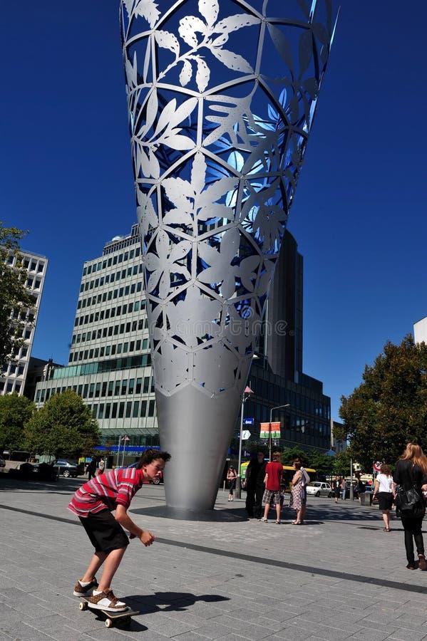 Christchurch - la Nuova Zelanda fotografia stock libera da diritti