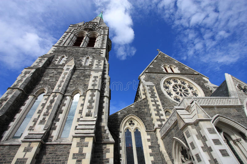 Christchurch, New Zealand. ChristChurch Anglican cathedral in Christchurch, Canterbury, New Zealand royalty free stock photos