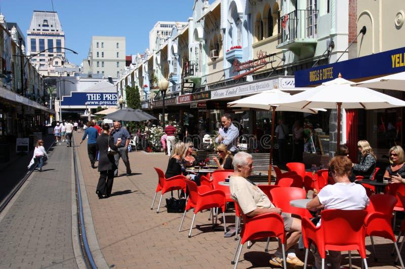 Christchurch, Nieuw Zeeland royalty-vrije stock afbeeldingen