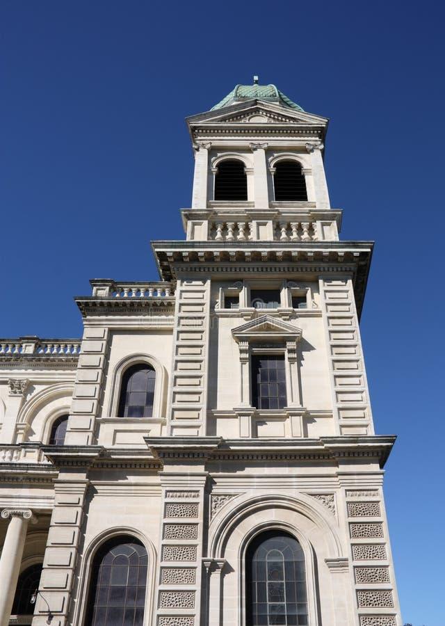 Christchurch, Nueva Zelandia imagen de archivo
