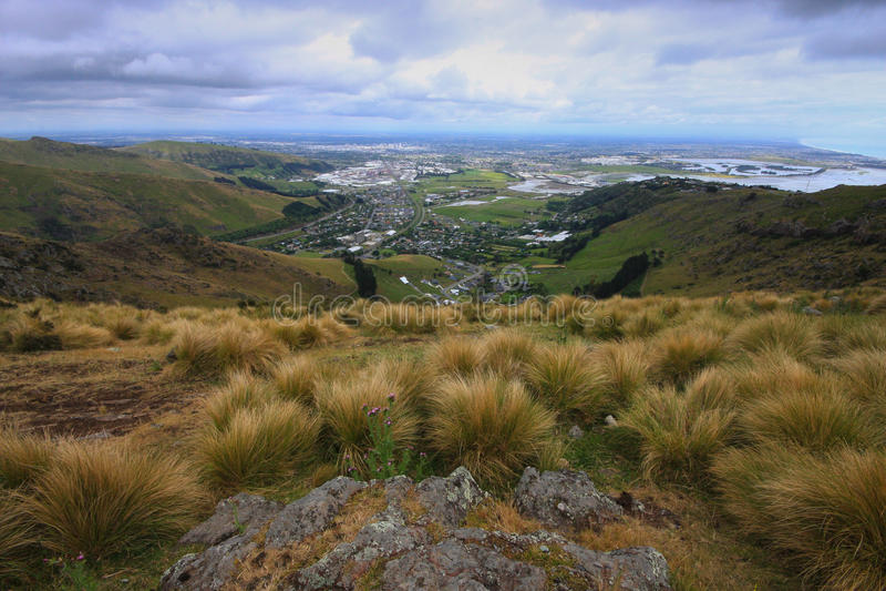 Christchurch van de Toneelrand royalty-vrije stock foto's