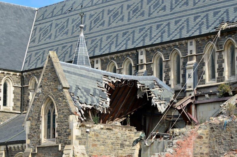 ChristChurchkathedraal in Christchurch - Nieuw Zeeland royalty-vrije stock foto's