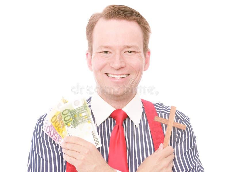 Christelijk bedrijfsgeld royalty-vrije stock foto