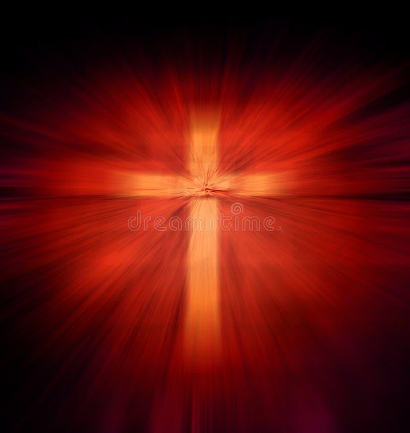 Christelijk godsdienstig kruis stock afbeeldingen